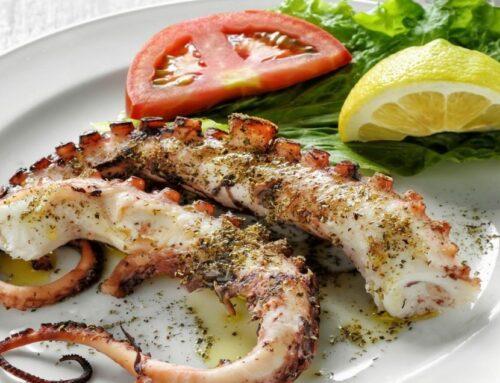 Eating in Lefkada
